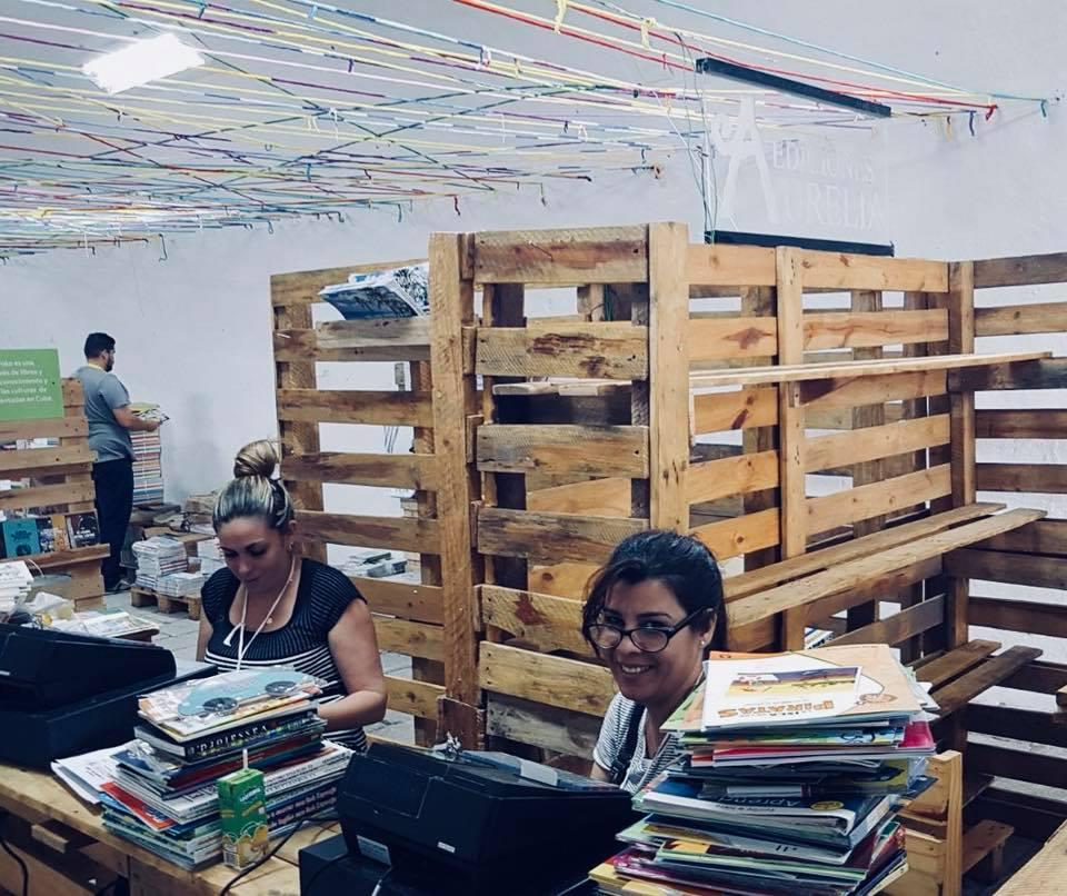 Área donde se venden los libros
