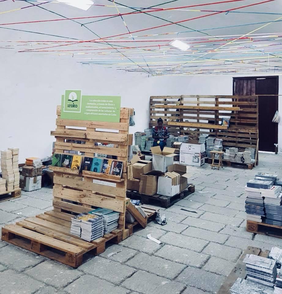 Área de de exposición de las Colecciones Iroko y Guerriller